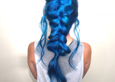 Blue Battle Braid